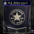 converse Metallic Silver Vinyl Black 120x120