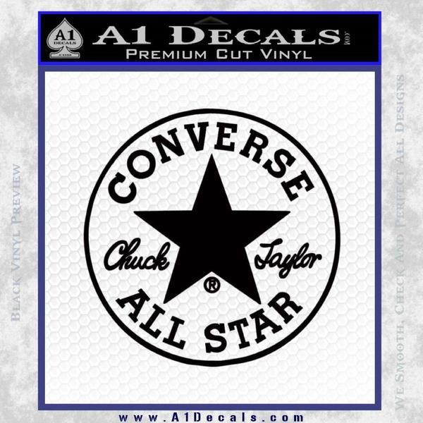 converse Vinyl Black