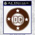 DC Comics Decal Sticker CR BROWN Vinyl 120x120