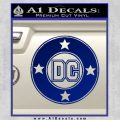 DC Comics Decal Sticker CR Blue Vinyl 120x120