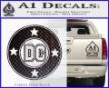 DC Comics Decal Sticker CR Carbon FIber Black Vinyl 120x97