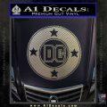 DC Comics Decal Sticker CR Carbon FIber Chrome Vinyl 120x120