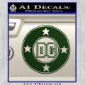 DC Comics Decal Sticker CR Dark Green Vinyl 120x120