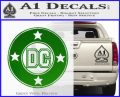 DC Comics Decal Sticker CR Green Vinyl Logo 120x97