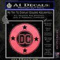 DC Comics Decal Sticker CR Pink Emblem 120x120