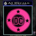 DC Comics Decal Sticker CR Pink Hot Vinyl 120x120
