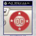 DC Comics Decal Sticker CR Red 120x120