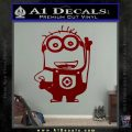 Despicable Me D13 Hand Point Up Decal Sticker 120x120