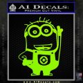 Despicable Me D13 Hand Point Up Decal Sticker 13 120x120