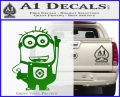 Despicable Me D13 Hand Point Up Decal Sticker 14 120x97