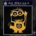 Despicable Me D13 Hand Point Up Decal Sticker 15 120x120