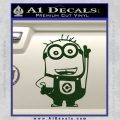 Despicable Me D13 Hand Point Up Decal Sticker 16 120x120