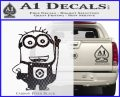 Despicable Me D13 Hand Point Up Decal Sticker 17 120x97