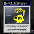 Despicable Me D13 Hand Point Up Decal Sticker 3 120x120