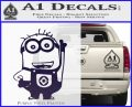 Despicable Me D13 Hand Point Up Decal Sticker 8 120x97