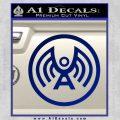 Doctor Who Archangel Network Logo Decal Sticker Blue Vinyl 120x120