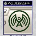 Doctor Who Archangel Network Logo Decal Sticker Dark Green Vinyl 120x120
