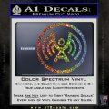 Doctor Who Archangel Network Logo Decal Sticker Glitter Sparkle 120x120