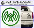 Doctor Who Archangel Network Logo Decal Sticker Green Vinyl Logo 120x97