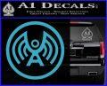Doctor Who Archangel Network Logo Decal Sticker Light Blue Vinyl 120x97