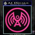 Doctor Who Archangel Network Logo Decal Sticker Pink Hot Vinyl 120x120