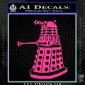 Doctor Who Dalek Decal Sticker D1 Pink Hot Vinyl 120x120