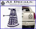 Doctor Who Dalek Decal Sticker D1 PurpleEmblem Logo 120x97