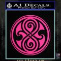 Doctor Who Rassilon Decal Sticker Pink Hot Vinyl 120x120