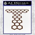 Doctor Who Torchwood Decal Sticker D1 BROWN Vinyl 120x120
