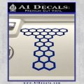 Doctor Who Torchwood Decal Sticker D1 Blue Vinyl 120x120