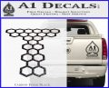 Doctor Who Torchwood Decal Sticker D1 Carbon FIber Black Vinyl 120x97