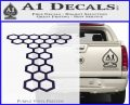 Doctor Who Torchwood Decal Sticker D1 PurpleEmblem Logo 120x97