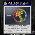 Greek God Hammer Decal Sticker D2 Spectrum Vinyl Black 120x120