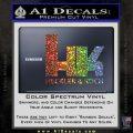 Heckler Koch Decal Sticker Glitter Sparkle 120x120