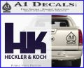 Heckler Koch Decal Sticker PurpleEmblem Logo 120x97