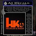 Heckler Koch Js Hk Decal Sticker Orange Emblem 120x120