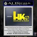 Heckler Koch Js Hk Decal Sticker Yellow Laptop 120x120
