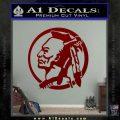 Indian Warrior Decal Sticker DRD Vinyl 120x120