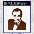 James Bond 007 Sean Connery Decal Sticker BROWN Vinyl 120x120