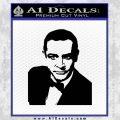 James Bond 007 Sean Connery Decal Sticker Black Vinyl 120x120