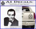 James Bond 007 Sean Connery Decal Sticker Carbon FIber Black Vinyl 120x97