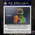 James Bond 007 Sean Connery Decal Sticker Glitter Sparkle 120x120