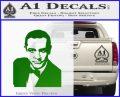 James Bond 007 Sean Connery Decal Sticker Green Vinyl Logo 120x97