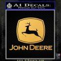 John Deere Full Decal Sticker Gold Vinyl 120x120