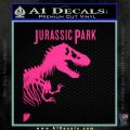 Jurassic Park Book Decal Sticker Pink Hot Vinyl 120x120