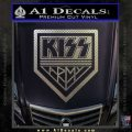 Kiss Army Decal Sticker Carbon FIber Chrome Vinyl 120x120
