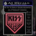 Kiss Army Decal Sticker Pink Emblem 120x120