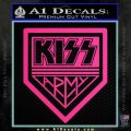 Kiss Army Decal Sticker Pink Hot Vinyl 120x120
