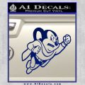 Mighty Mouse Decal Sticker Classic Blue Vinyl 120x120