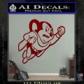 Mighty Mouse Decal Sticker Classic DRD Vinyl 120x120